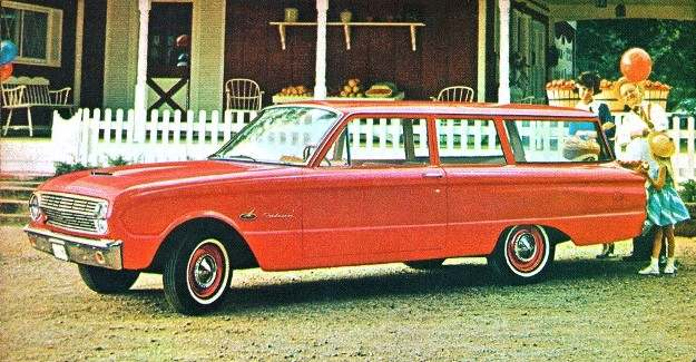 1963 2 Door Falcon Station Wagon