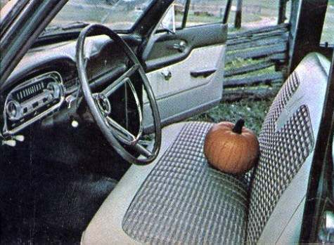 1963 Falcon Station Wagon Interior