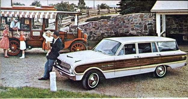 1963 Falcon Station Wagon
