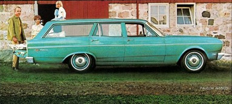 1970 Falcon Station Wagon